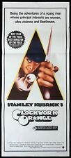 A CLOCKWORK ORANGE Original Daybill Movie Poster Stanley Kubrick Malcom McDowell