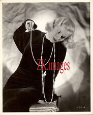 JOAN FONTAINE Mode Pearl Art Deco Film Bachrach 1936