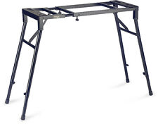 Stagg MXS-A1 Adjustable Black Metal Mixer Keyboard DJ Stand Booth