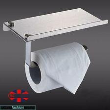 Toilet Roll Tissue Holder Phone Stand Paper Dispensers Wall Mounted Bathroom