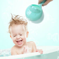 Baby Bath Cap Toddle Hair Washing Shampoo Cup Bathing Bailer Shower Spoon