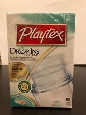 Playtex Drop-Ins Disposable Liners 4-Ounce 50 Each