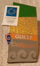 2004 CoSport Athens Olympic Pin Guest Limited Edition 1 of 2000