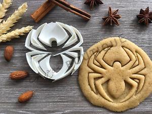 Spider Cookie Cutter 04 | Fondant Cake Decorating | UK Seller