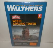 Walthers Cornerstone N Scale Wood Coaling Tower #933-3823 NIB