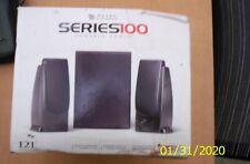 Altec Lansing Computer or TV 3 piece speaker system Series 100 NEW