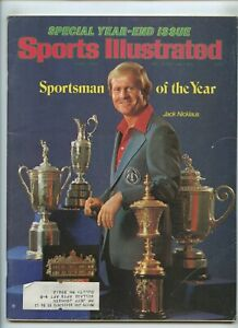 Sports Illustrated Nicklaus SOY 1978 Bowl Previews Penn State Alabama For #1