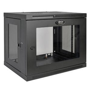 Tripp-Lite SRW9UG Case 9U Low-Profile Switch-Depth Wall-Mount Rack Enclosure