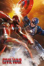 CAPTAIN AMERICA CIVIL WAR (FIGHT) - Maxi Poster 61cm x 91.5cm PP33826 - 547