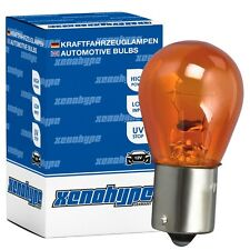 4x PY21W XENOHYPE Classic BAU15s 12 V 21 Watt Kugellampe Blinkerlampe