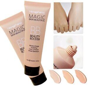 1Pc Natural Brighten Liquid Foundation BB Cream Base Makeup Concealer Face White