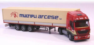AWM 75410 - Iveco Stralis With Refrigerated Multiple Arcese Ho 1:87