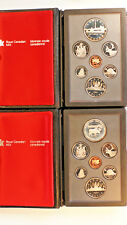 1984 & 1985 DOUBLE $1 CANADIAN 7 COIN PROOF SET