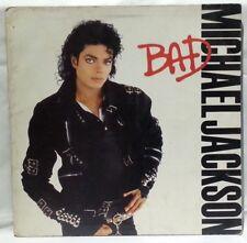 MICHAEL JACKSON - vintage vinyl LP - Bad - Gatefold