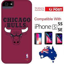 NBA x HOOT Chicago Bulls Team Cover Case basketball Logo iPhone 5 / 5s / SE