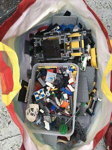 Bulk Lot Around 4kg Lego (city, Stsr Wars Etc)