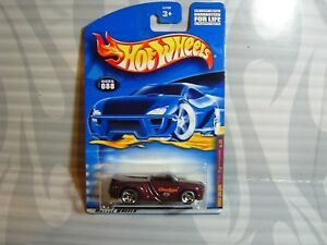 2001 HOT WHEELS company cars #088 = DODGE SIDEWINDER = BURGANDY 3sp ,0910