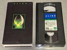 Alien 1979 Sci-Fi Horror Movie Vhs Video Ridley Scott 1992 Sigourney Weaver