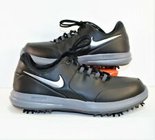 Nike Air Zoom Accurate Grey & Black Mens Golf Cleats Sz 9 Wide New 909724 003