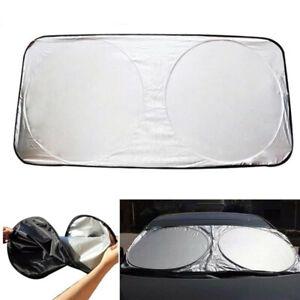 1Pcs Car Windshield Sunshade Nylon Polyester Heat Block Heat Foldable Sun Shield