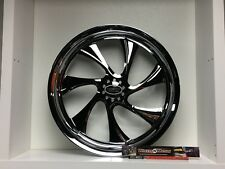 "09 up Harley Davidson 17"" Rear Wheel Custom Chrome Wheel Style 118c"
