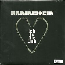 """Rammstein - Ich tu Dir weh  UK 7"""" red etched Vinyl  numm Edition  No 661 OVP"""
