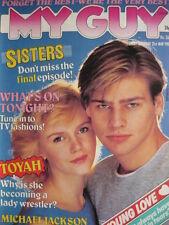 MY GUY MAGAZINE 21ST MAY 1983 - TOYAH - MICHAEL JACKSON - STEPHEN COLLINS