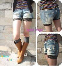 Japan Cuties Lace Leggings Safety Shorts! Black S