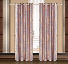 Dolce Mela Damask Window Treatments, Single Panel Grommet Drapes, Pandora DMC465