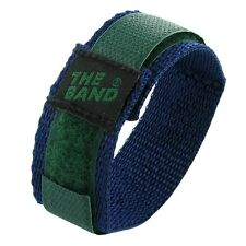 16mm Chisco Durable Green and Blue Sport Strap Wrap Nylon  Watch Band