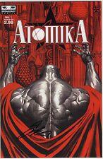 ATOMIKA #1 ALEX ROSS COVER SIGNED SAL ABBINANTI  COA