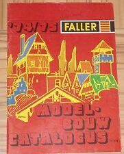per Faller Modellismo Anno Catalogo 1974/75 - Lingua Olandese