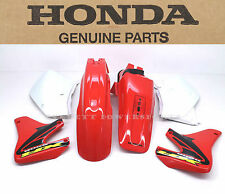 New Genuine Honda Plastic Body Kit Set 00-07 XR650R Fenders Panels Shrouds #S90