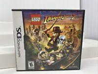 Lego Indiana Jones 2 (Nintendo DS) Lite DSi XL 3DS 2DS Game w/Case