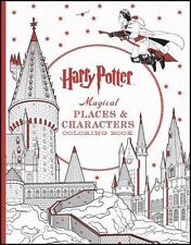 Harry Potter Magical Places & Characters Coloring Book. New