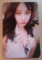 AOA Yuna Good Luck official photo card ( week  ver. )
