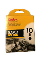 NEW IN BOX Genuine Kodak 10B Black Ink Cartridge
