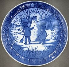 Royal Copenhagen 1985 The Snowman Plate - 7 1/8""