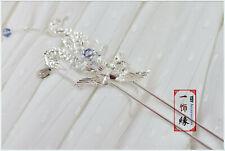 Phoenix Flower Hair Pin/ Sliver Hair stick/Hair Pin/ Chinese Hair Accessories