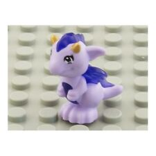 LEGO - Animal, Dragon Baby Trans-purple Belly, Spines & Wings & Gold Horns