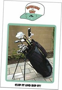 Golf Bag Cell Phone Holder/Stand -  - Easily Record Your Golf Swing! Improve