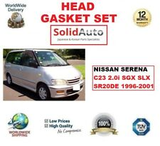 FOR NISSAN SERENA C23 2.0i SGX SLX SR20DE 1996-2001 HEAD GASKET SET OE QUALITY