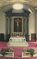 """*Missouri Postcard-""""Interior/St. Louis IX, of France (Old Cathedral) *St. Louis-"""
