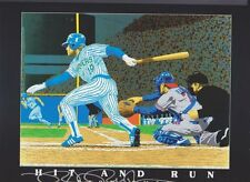 "Yount and Molitor ""Hit n Run"" lithograph Limited Numbered 642 of 5,000"