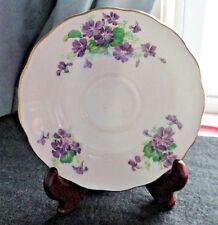 Colclough China Orphan Replacement Saucer~ Purple Violets