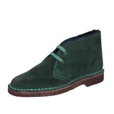 scarpe donna KEPS BY CORAF 36 EU polacchini verde camoscio BX675-36