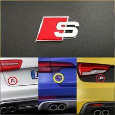Stemma posteriore S-Line 3D Audi adesivo in Metallo cromato logo emblema fregio