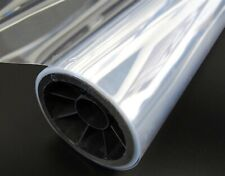 """MYLAR FILM .007/""""x48/""""x100FT MELINEX CLEAR Polyester FACE SHIELD SHIPS SAME DAY 50"""