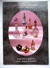 """RARE CATALOGUE DE VENTE """"FLACONS A PARFUM"""" ANCIENS / DECEMBRE 1997 / COLLECTION"""