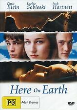Here On Earth - True Love / Romantic - Leelee Sobieski, Chris Klein - NEW DVD